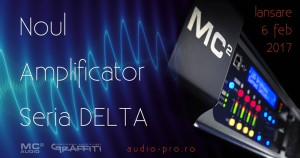 Noul Amplificator Seria DELTA de la MC2 Audio