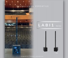 Versatility and power: LABI1 Series compact PA system