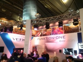 New speakers from Funktion-One launched at Prolight + Sound 2017