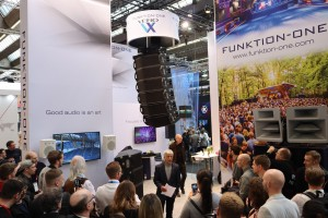 Funktion-One unveils Vero VX at Prolight + Sound 2019 Frankfurt